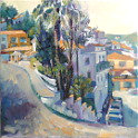 Painting by Diana Golledge Finca del Ni�o, Spain