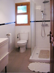 photo of one bathroom