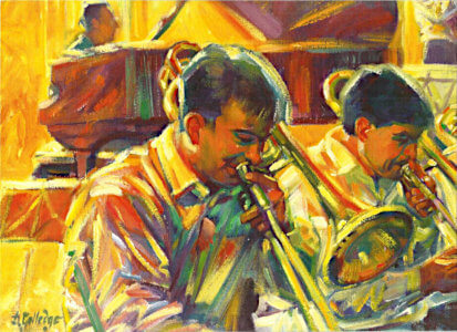 Painting from Diana Golladge Orchestra