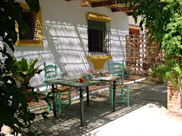 Photo of Andalusian porch