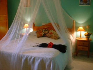 photo of typical finca bedroom