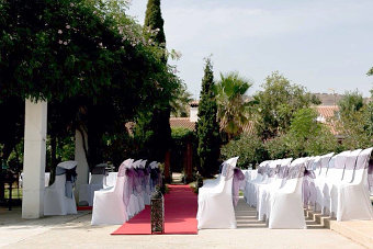 Wedding place at the Costa del Sol